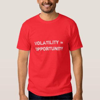 Volatility = Opportunity T-shirt