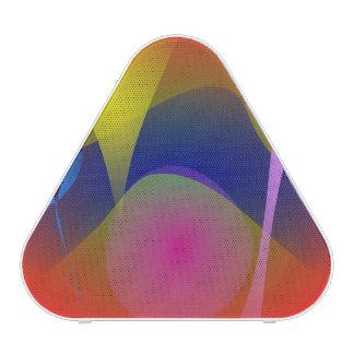 Volcán abstracto altavoz