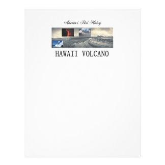 "Volcán de ABH Hawaii Folleto 8.5"" X 11"""