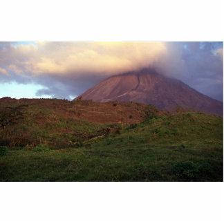 Volcán de Arenal, Costa Rica Fotoescultura Vertical