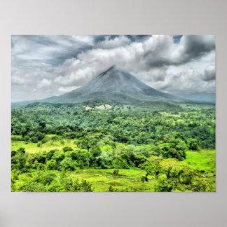 Volcán de Arenal - Costa Rica Poster