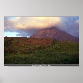 Volcán de Arenal, Costa Rica Poster