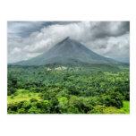 Volcán de Arenal - Costa Rica Tarjeta Postal