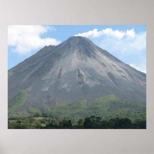 Volcán de Arenal Impresiones