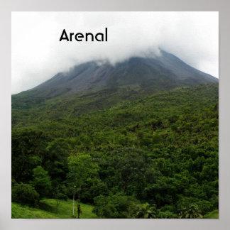 Volcán de Arenal Posters