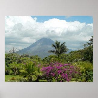 Volcán de Arenal - poster de Costa Rica