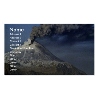 Volcán de Kanaga, isla de Kanaga, Aleutians Tarjeta De Visita
