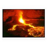 Volcán de Kilauea Tarjetas Postales