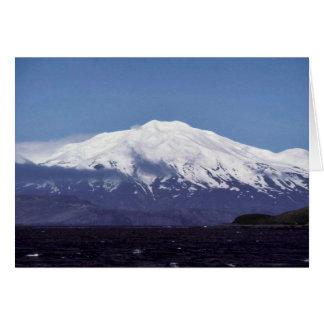 Volcán de la isla de Kiska Felicitacion