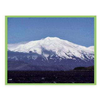 Volcán de la isla de Kiska Postales