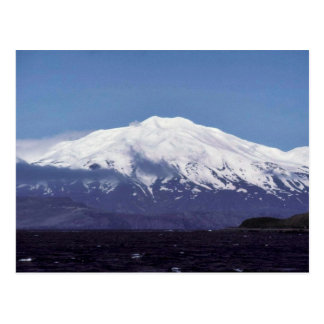 Volcán de la isla de Kiska Postal