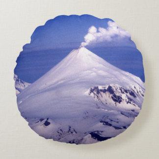 Volcán de las islas Aleutian Cojín Redondo