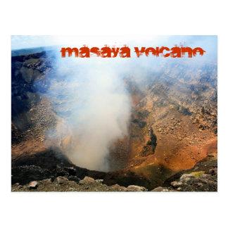 Volcán de Masaya, Nicaragua, C.A. Tarjeta Postal