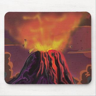 Volcán de México Mouse Pad