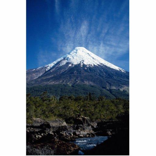 Volcán de Osoro y distrito del río de Petrolhue, l Esculturas Fotograficas