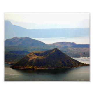 "Volcán de Taal en Tagaytay Ridge 10"""" impresión de Fotografias"