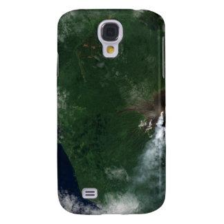 Volcán de Ulawun de la cumbre de New Britain Funda Para Samsung Galaxy S4