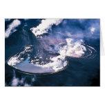 Volcán de Veniaminof, península de Alaska, julio,  Tarjeta