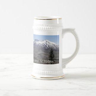 Volcán del Monte Saint Helens Jarra De Cerveza