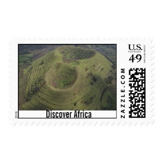 Volcán en África Franqueo
