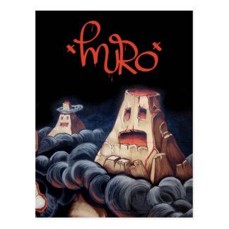 Volcán Muro Postcard