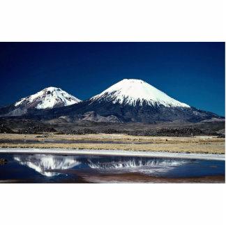 Volcán Parinacotta, Chile Fotoescultura Vertical