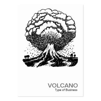 Volcán Plantilla De Tarjeta De Visita