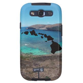 Volcán y playa de Hawaii Galaxy S3 Carcasa