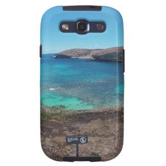 Volcán y playa de Hawaii Galaxy SIII Coberturas