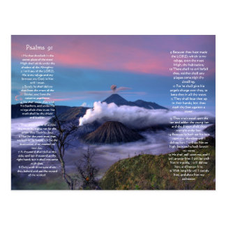 Volcanes abajo debajo de la postal del capítulo 91