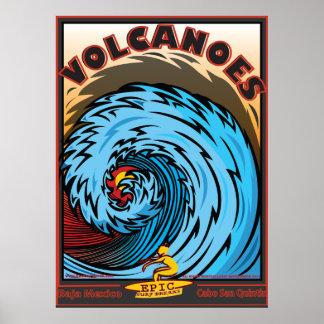 Volcanes Baja México Cabo San Quintin Póster