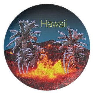 Volcanes de Hawaii Platos