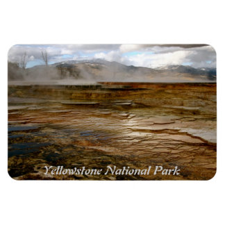 VOLCANIC ACTIVITY IN YELLOWSTONE NATIONAL PARK MAGNET