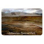VOLCANIC ACTIVITY IN YELLOWSTONE NATIONAL PARK VINYL MAGNETS