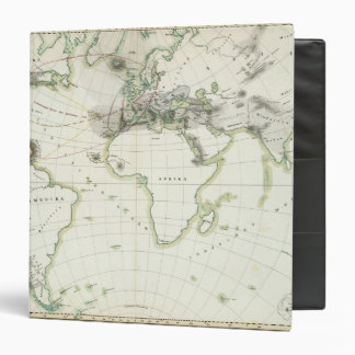 Volcanic Activity Map 3 Ring Binder