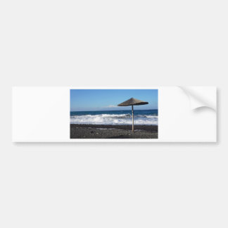 volcanic beach bumper sticker