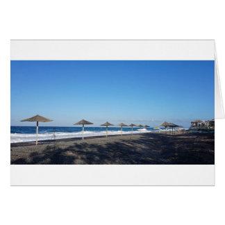 volcanic beach card