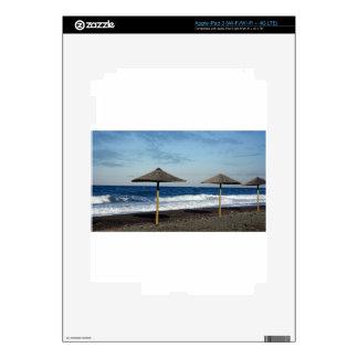 volcanic beach iPad 3 skin