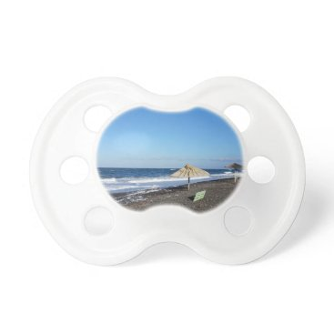 Beach Themed volcanic beach pacifier