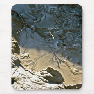 VOLCANIC BOILING MUD PULL MOUSE PAD