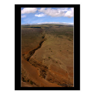 Volcanic Canyon - Hawaii Postcard