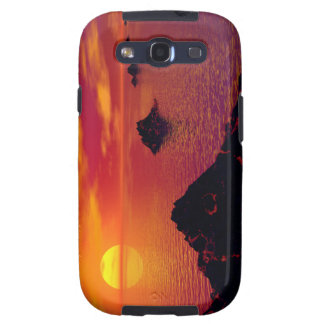 Volcanic Chain Galaxy S3 Cases