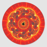 Volcanic Classic Round Sticker