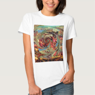 Volcanic eruption by rafi talby t-shirt