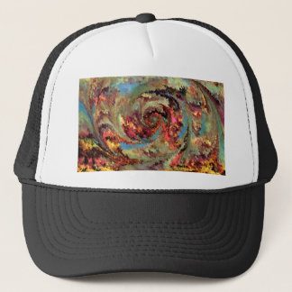 Volcanic eruption by rafi talby trucker hat