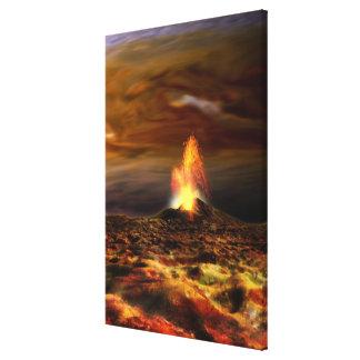 Volcanic Eruption on Io Canvas Print