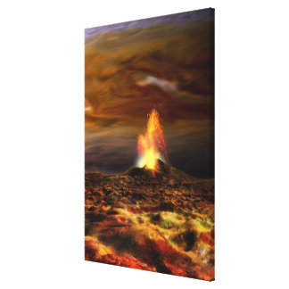 Volcanic Eruption on Io Canvas Print