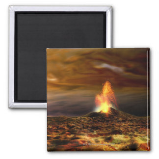 Volcanic Eruption on Io Refrigerator Magnet