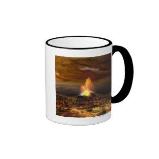 Volcanic Eruption on Io Mug