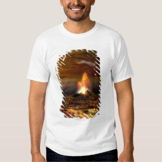 Volcanic Eruption on Io T-shirt